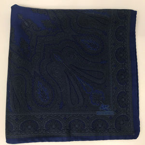 Etro Silk Pocket Square Handkerchief